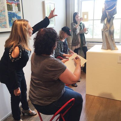 Sketching in the Galleries, Tuesday, December 10