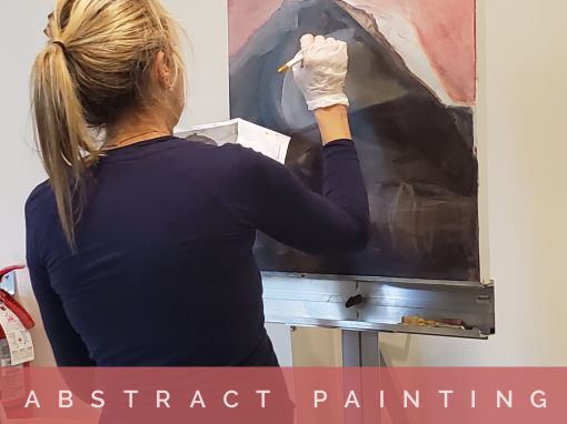 Abstract Acrylic Painting – Wednesdays 1:30 pm