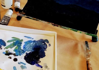 Acrylic Painting and Color Theory, Tuesdays, 9:30 am