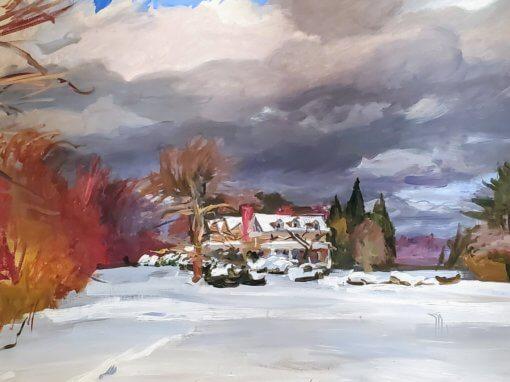 Artist in the Gallery, Christian White, Sunday, December 8
