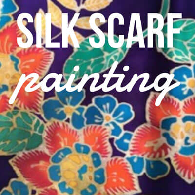 Silk Scarf Painting (Hot Batik) – March 21