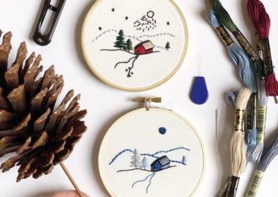 The Seasons Embroidery Workshop – January 18