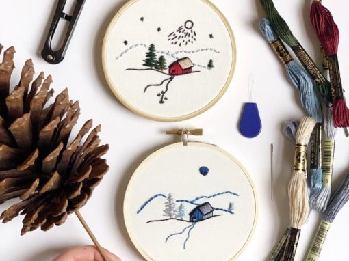 The Seasons Embroidery Workshop – January 18