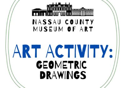 Kids Art Activity: Geometric Drawings