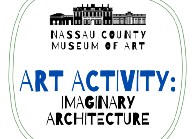 Kids Art Activity: Imaginary Architecture