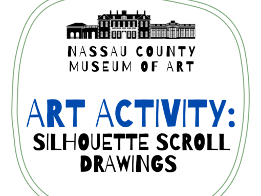 Art Activity: Silhouette Scroll Drawings