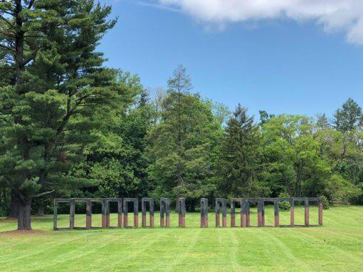 Tour the NCMA Sculpture Garden Virtually