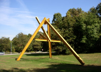 Mark di Suvero – ONE OKLOCK, 1968-69
