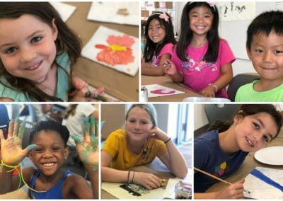 Summer Art Lab at Home – Ages 5-10