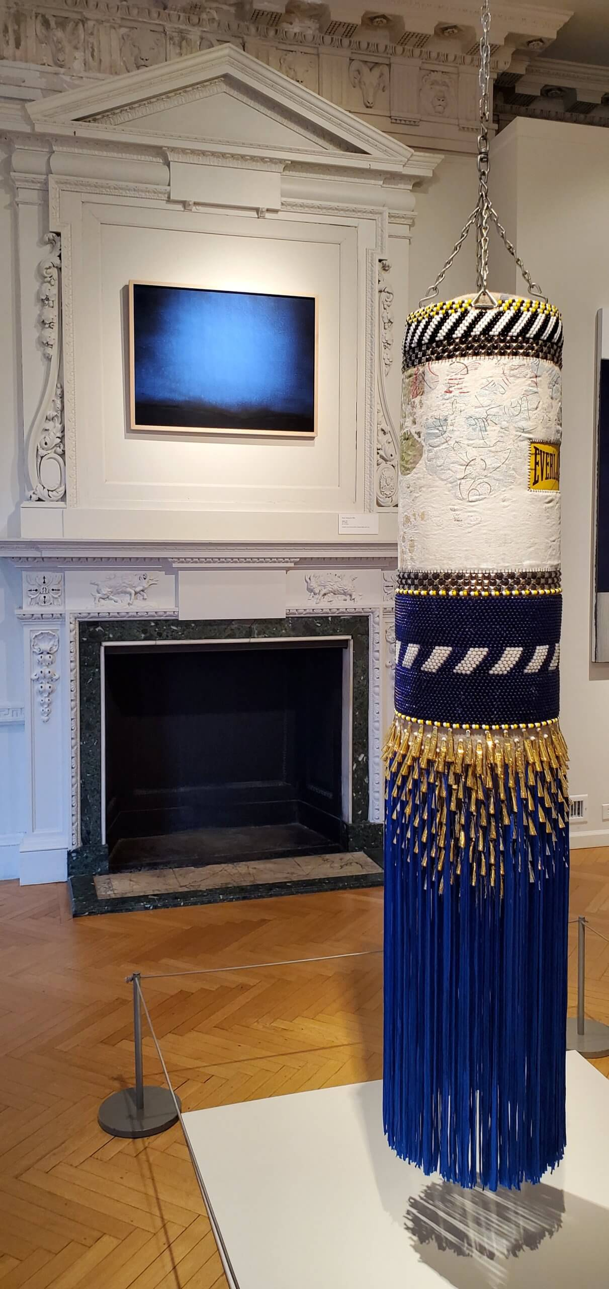 Jeffery Gibson – DEEP BLUE DAY, 2014 | Nassau County Museum of Art