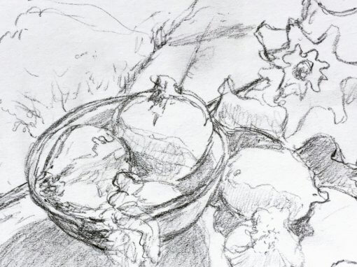 Still Life Drawing – Mondays, 1:30 pm