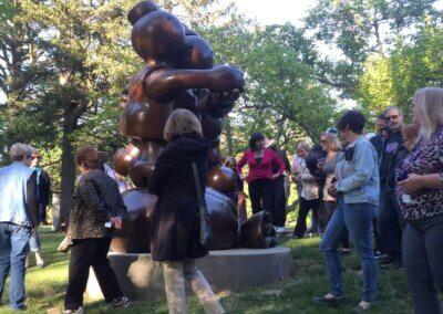 Sculpture Stroll – Thursday, Oct. 7