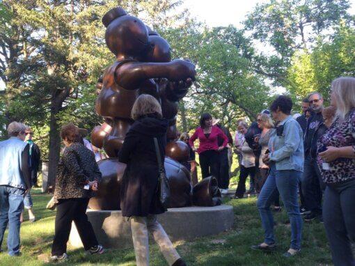 Sculpture Stroll, Thursday, Oct. 7, 5:30 pm