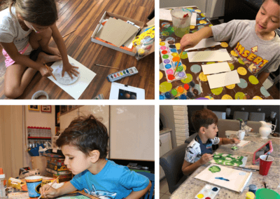 Virtual Art After School: Drawing & Painting – Wednesdays, 4:30