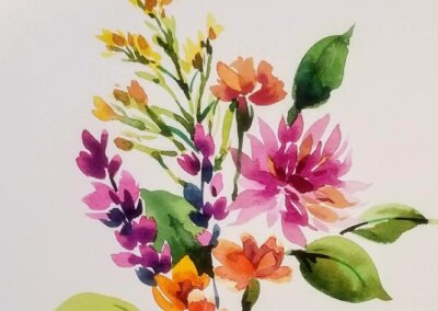 Botanical Watercolor Painting – Wednesdays, 10 am