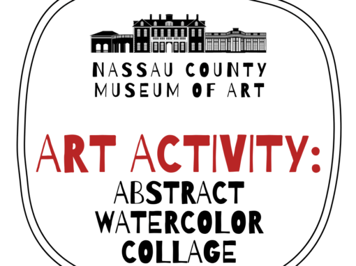 Kids Art Activity: Abstract Watercolor Collage