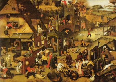Pieter Brueghel the Younger: An Intimate Encounter