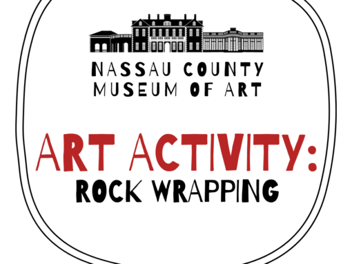 Kids Art Activity: Rock Wrapping