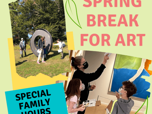 Spring Break for Art – March 30, 31 and April 1