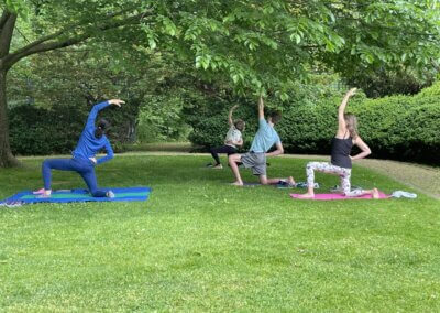 Yoga and Art in the Garden- Saturdays, 10am