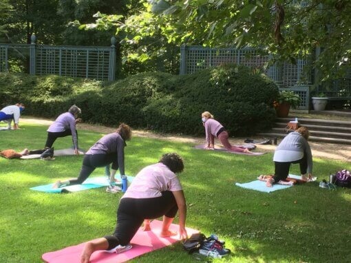 Yoga and Art in the Garden- Saturdays, May – July, 10 am