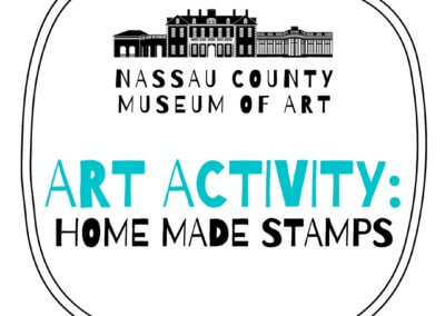 Art Activity: Home Made Stamps