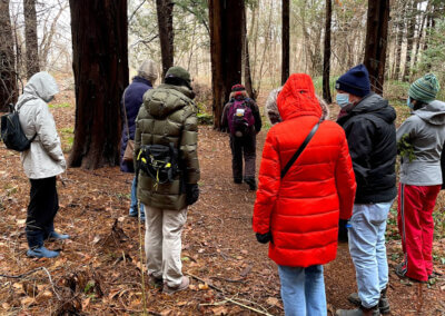 Nature Walk with Peggy Maslow of North Shore Audubon Society, Saturday, Oct. 9, 2 pm
