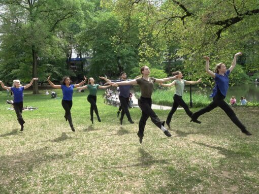 'Morning, Afternoon and Evening' an Outdoor Dance Program October 16, 3 pm