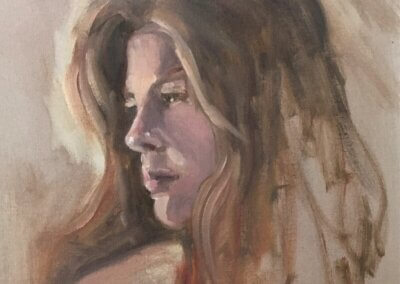 Portrait Painting in Oils or Acrylics – Tuesdays, 1:00pm