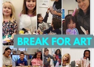Break For Art: Family Artmaking Day – Thursday, November 11